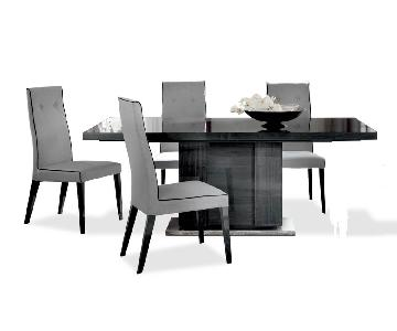 ALF Group Modern Dining Table w/ 4 Chairs