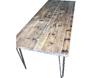 Canvas Home Reclaimed Wood & Iron Dining Table