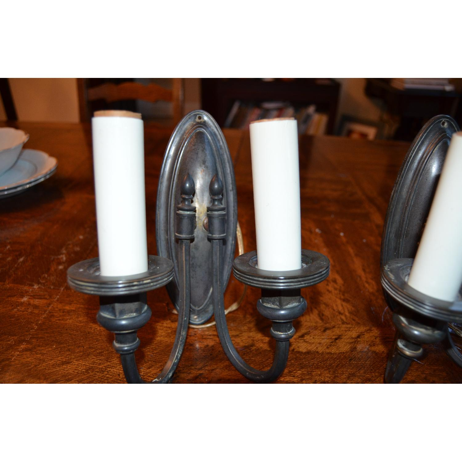 Vintage Metal Sconces-4