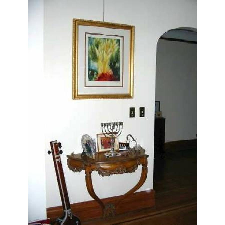 Antique Ornate Console Table-7