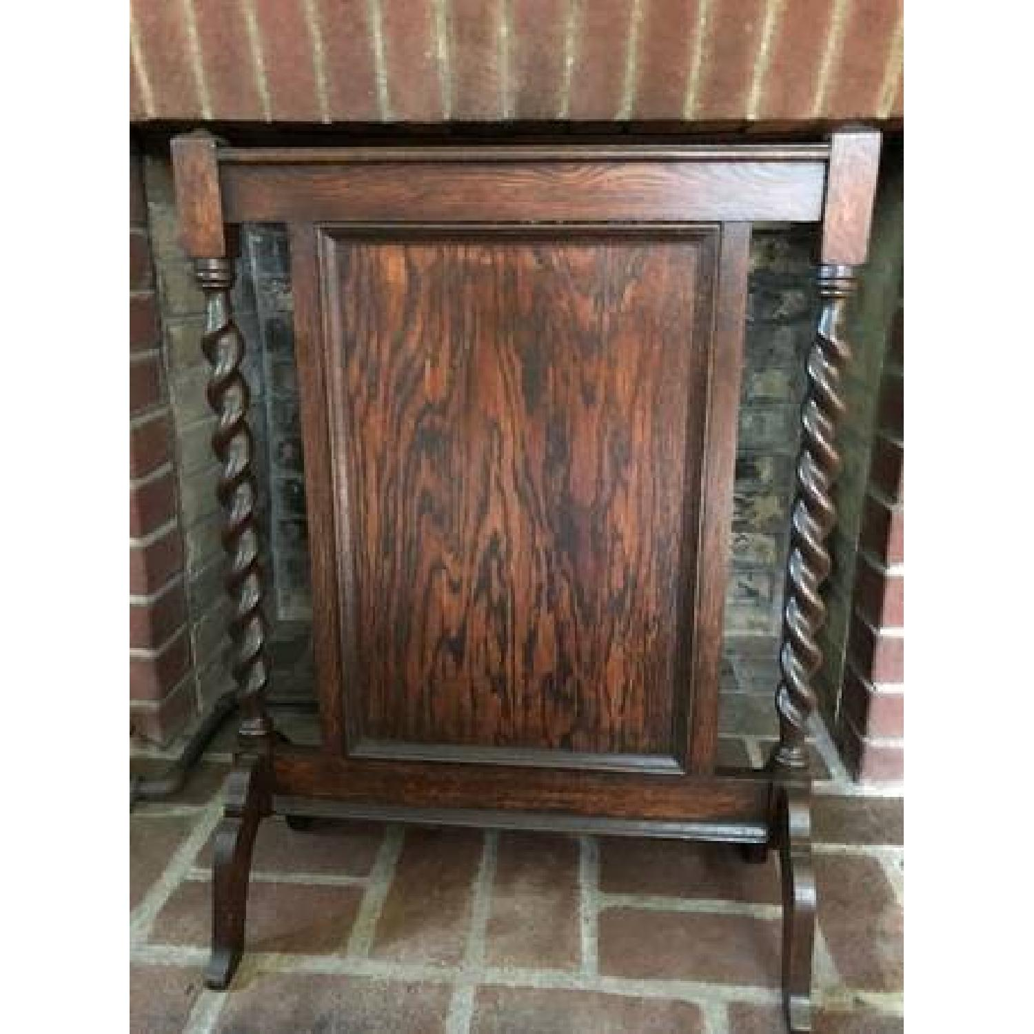 Jacoby Wood Fireplace Stand-3