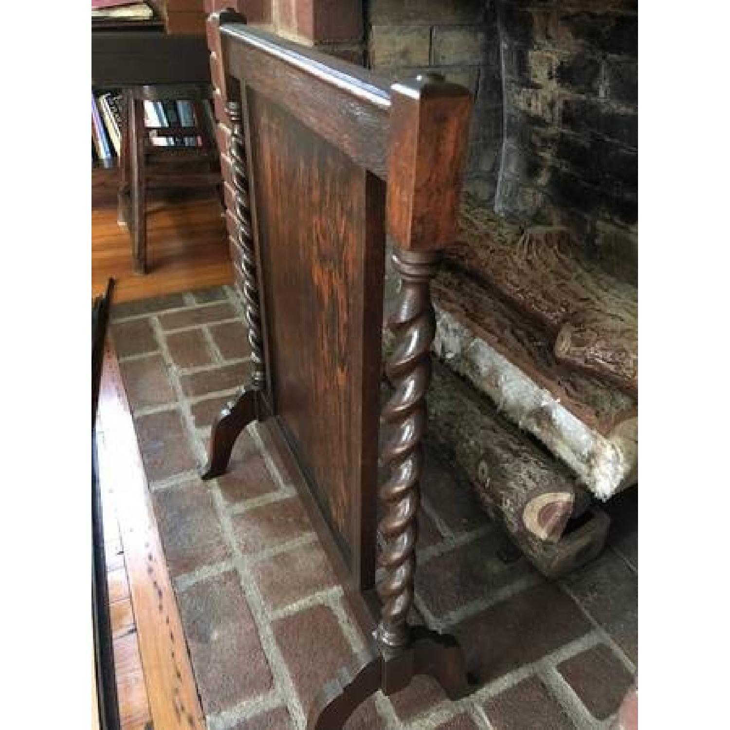 Jacoby Wood Fireplace Stand-4