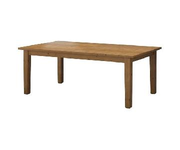 Ikea Dining Table w/ 6 Chairs