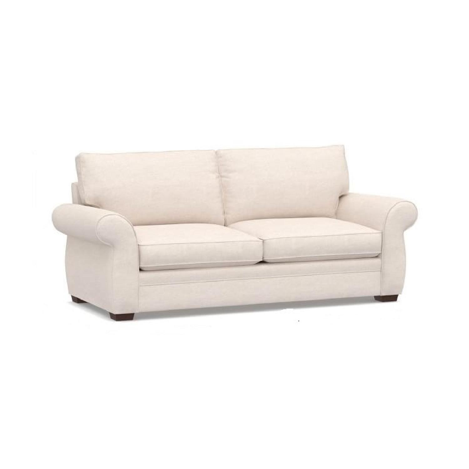 Pottery Barn Pearce Roll Arm Grand Sofa