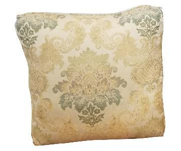 Thomasville Custom Made Damask Pillows