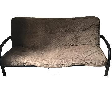 Brown Full Size Futon