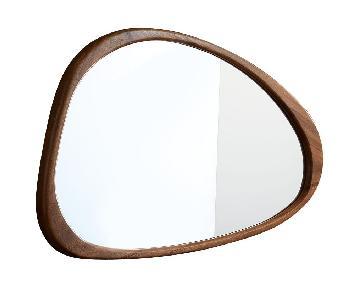 West Elm Mid-Century Asymmetrical Wall Mirror