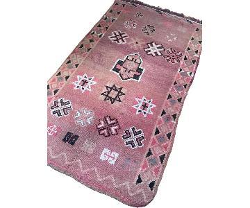Antique Boujaad Tribal Moroccan Rug