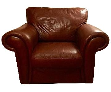 Macy's Leather Chair