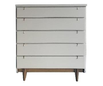 United Furniture Mid Century Modern Tallboy Dresser