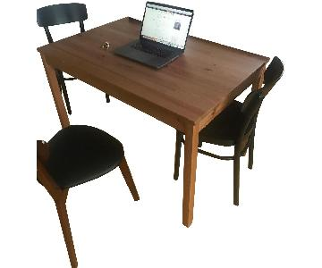Ikea Dining Table in Natural Wood Finish