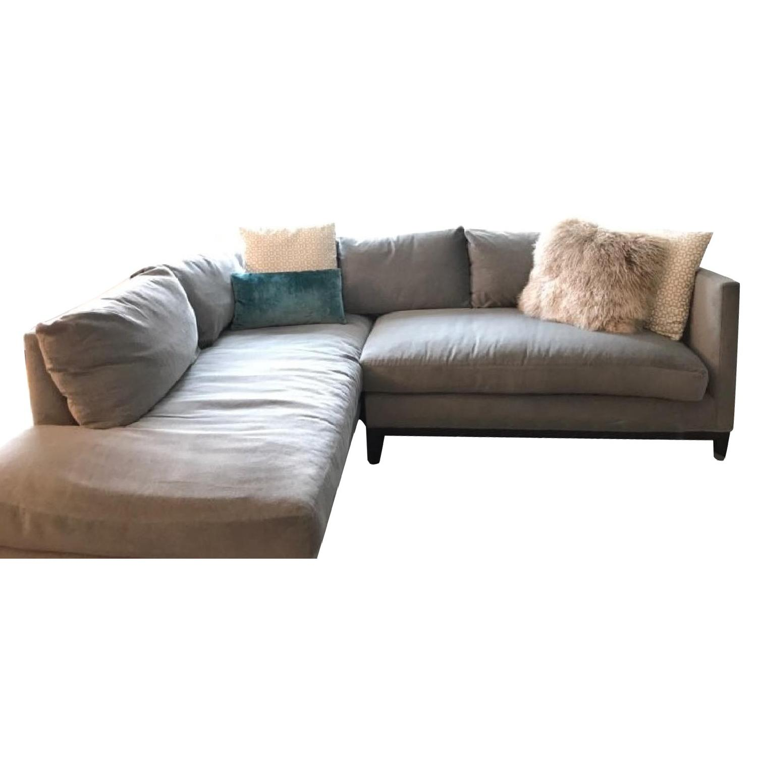 Lee Industries Custom Made 2 Piece Sectional Sofa ...