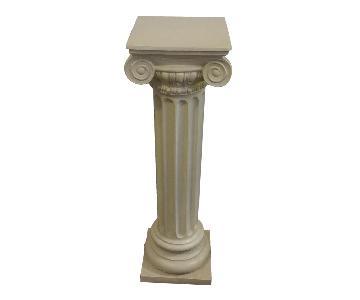 Ionic Column Pedestal/Side Table