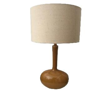 Italian Mid Century Modern Ceramic Table Lamps