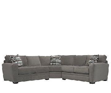 Raymour & Flanigan Artemis II 3-Piece Sectional Sofa