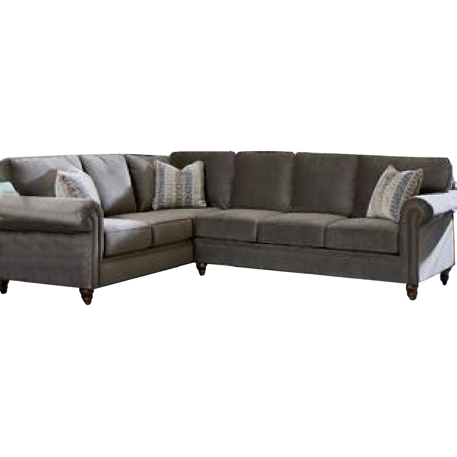Crate & Barrel 3-Piece Sectional Sofa