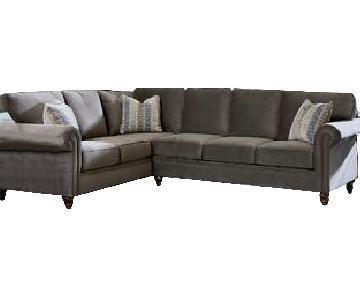 Crate & Barrel 3-Piece Sectional Sofa