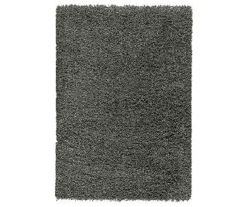 Ikea Dark Grey Area Rug
