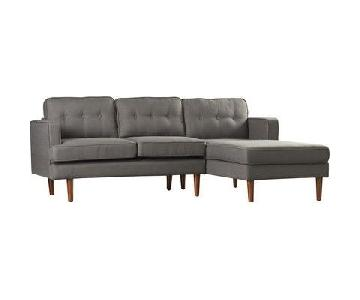 Langley Street Monterey Sectional w/ Right-Facing Chaise