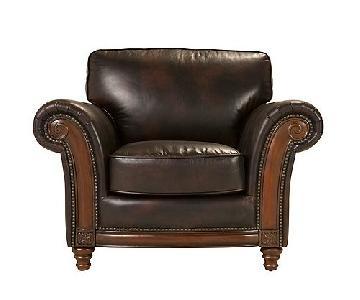 Raymour & Flanigan Brookshire Leather Chair