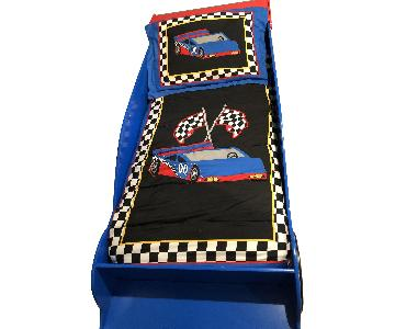 KidKraft Toddler Race Car Bed