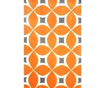nuLOOM Gabriela Deep Orange Area Rug