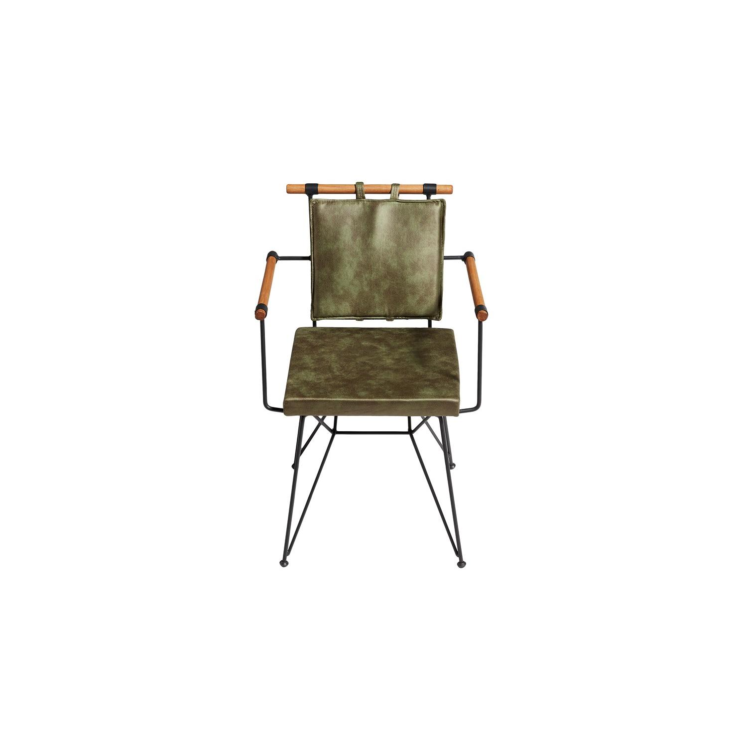 Izmit Metal Chair in Green