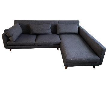 Corrigan Studio Saginaw 2-Piece Sectional Sofa