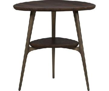 Crate & Barrel Mid Century Side Table