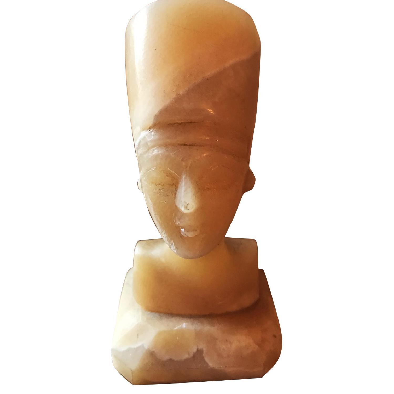 Egypt Queen Nefertiti Alabaster Figurine