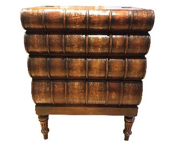 Antique Book Side Tables