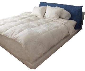 King Size Bed Frame w/ Headboard