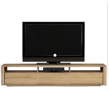 Crate & Barrel Low Media Console