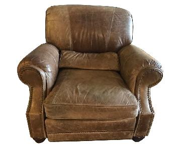 Barcalounger Leather Recliner