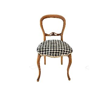 Victorian Balloon/Bastel Back Chairs