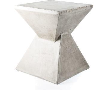 My Spirit Concrete Garden End Table