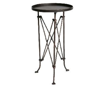 Urban Outfitters Metal Accordion Side Tables