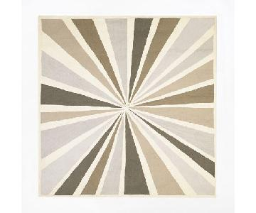 West Elm Graphic Bullseye Rug