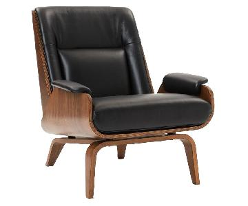 West Elm Paulo Bent Lounge Chair