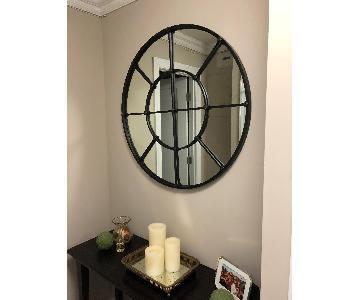Pottery Barn Round Mirror