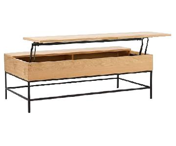 West Elm Industrial Large Storage Coffee Table