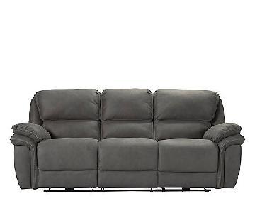 Raymour & Flanigan Skye Power Recliner Sofa