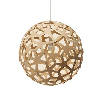 David Trubridge Bamboo Pendant Lamp