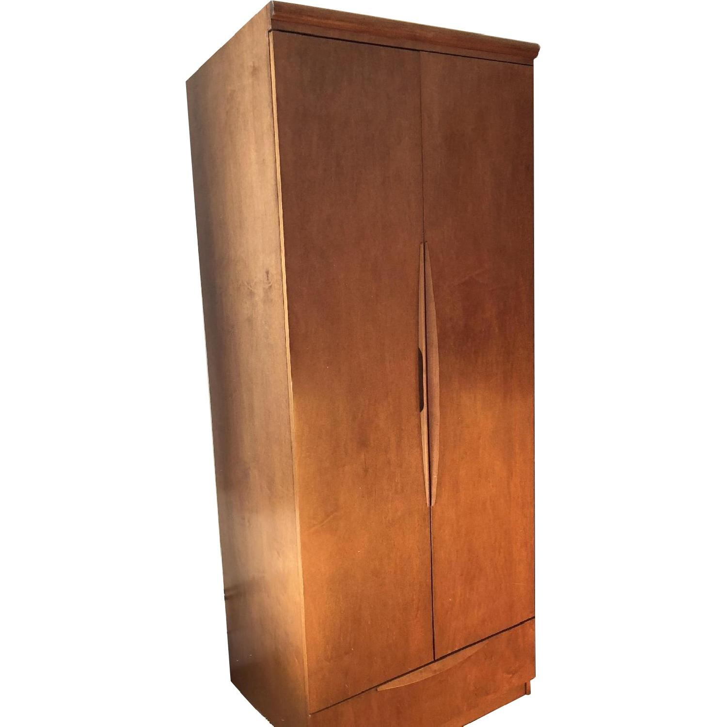 Gothic Cabinet Craft Solid Wood Armoire ...