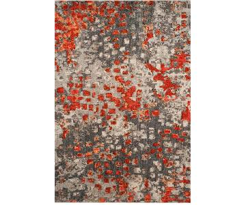 Safavieh Monaco Gray/Orange Area Rug