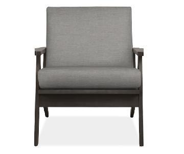 Room & Board Sanna Chairs in Black & Grey
