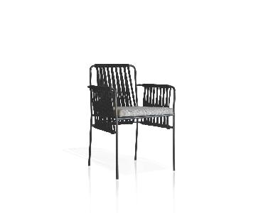 Expormim Nido Steel/Polyester Dining Chair