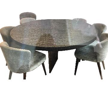 Restoration Hardware Channel Round Dining Table