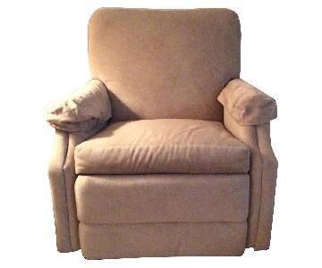 Gray Recliner Chair