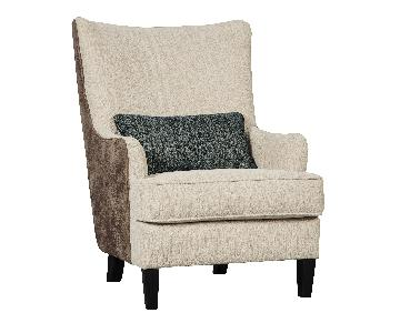 Ashley Signature Design Silsbee Sepia Accent Chair